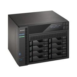 Asustor 8-Bay Nas Intel Celeron Quad-Cord As6208T