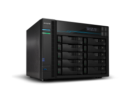 Asustor AS6510T 10 Bay Lockerstor 10 NAS Intel Atom C3538 Quad Core 2.1GHz 8GB DDR4 2x2