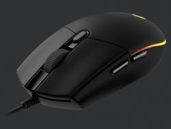 Logitech G203 Black Wired Gaming Mouse: Lightsync G203 Black (G203 Black)