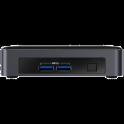 Intel Nuc Mini Pc I5-7300U 8Gb 256Gb W10P Blknuc7I5Dnkpc4