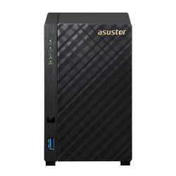 Asustor 2-bay Nas Marvell Armada-385 Dual Core 512mb Ddr3 Gbe X1 Usb 3.0 Wol System Sleep Mode