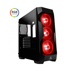 Antec Df500 Rgb Atx Tempered Glass Tinted Front Gaming Case Df500 Rgb