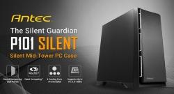 "Antec P101 Silent Atx E-Atx Case 1X 5.25"" 2X 2.5"" Ssd 8X 3.5"" Hdd. Vga Up To 450Mm Cpu Height"
