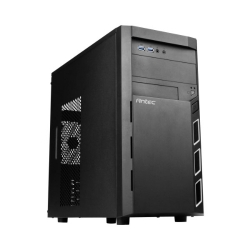 "Antec Vsk3000 Elite Micro Atx Case.1x 5.25"" External. 4x 3.5"" Internal 2x Usb 3.0 Two Years Warranty"