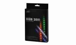 Deepcool Rgb Colour Led 350 Strip Lighting Kit (Magnetic) With Remote Cfan-Rgbstp350