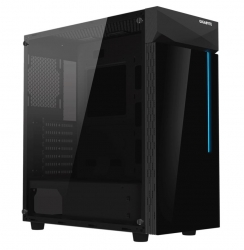 Gigabyte C200 Rgb Tempered Glass Atx Mid-Tower Pc Gaming Case - GB-C200G