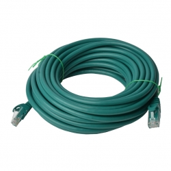 8Ware Cat6A Utp Ethernet Cable 40M Snagless Green Pl6A-40Grn
