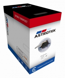 Astrotek Cat6 Ftp Cable 305M Roll - Blue Full 0.55Mm Copper Solid Wire Ethernet Lan Network