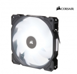 Corsair Air Flow 140Mm Fan Low Noise Edition / White Led 3 Pin - Hydraulic Bearing 1.43Mm H2O.