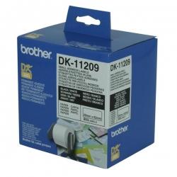 Brother White Small Address Label 29mmx62mm 800 Labesl Per Roll Dk11209