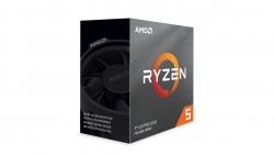 Amd Ryzen 5 3600 6 Core Am4 Cpu 3.6Ghz 4Mb 65W W/ Wraith Stealth Cooler Fan 100-100000031Box