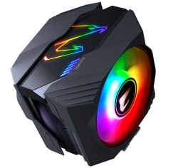 Gigabyte Aorus Atc800 Multi Socket Cpu Air Cooler Rgb Dual 120Mm Fan For Intel 2066 2011 1366 1156 1155 1151 1150 Amd Am4 Fm2+ Fm2 Am3+ Am3 ~Atc700 Atc800
