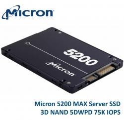 "Micron 5200 Max 1.92Tb 2.5"" Sata3 6Gbps 7Mm Server Data Centre Ssd 3D Tlc Nand 540R/ 520W Mb/ S"