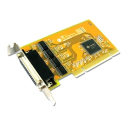 Sunix Ser5056Al Pci 4-Port Serial Rs-232 Card - Low Profile Ser5056Al
