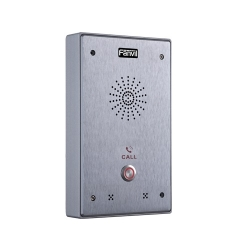 Fanvil I12 Outdoor Audio Intercom - Single Button Outdoor Rated Ip65 + Ik10 I12-01P