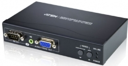 Aten Vga/ Audio/ Rs-232 Cat 5 Receiver With Dual Output Ve200R-At-U