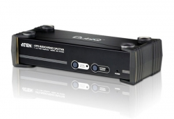 Aten Vancryst 8 Port Video Cat5 Splitter With Audio Rs-232 Vs1508T-At-U
