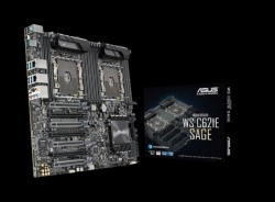 Asus Ws C621e Sage Extreme Power Intel Xeon Processor Workstation Motherboard For Two-way Xeon