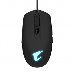 Gigabyte Aorus M2 Optical Gaming Mouse Usb Wired 6200 Dpi 12500 Fps 50G 3D Scroll 50 Million Click