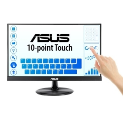 "Asus Vt229H Touch Monitor - 21.5"" Fhd (1920X1080) 10-Point Touch Ips 178 ° View Frameless 1.5W*2"