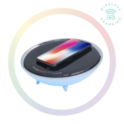 Mbeat Wireless Charging Station With Rgb Colour Charging Case Aca-Led-U1