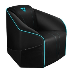 Thunderx3 Us5 Console Couch - Black/ Cyan Us5-bc