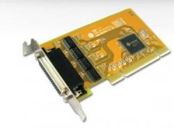 Sunix 4 Port Serial Pci Low Profile Lp Card Rs232 (Includes 4 X Spliter Cable) Ser5056Al.