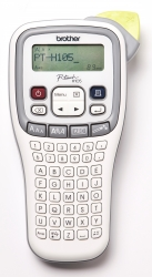 Brother Pth105accent Labeller Handheld, White/ Grey 3.5-12mm Pt-h105