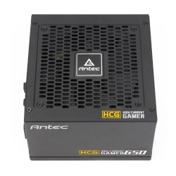 Antec Hcg-650g 650w 80 + Gold Fully Modular Psu 120mm Fdb Fan 100% Japanese Caps Dc To Dc Compact