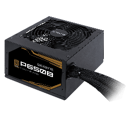 Gigabyte P650b 650w Atx Psu Power Supply 80+ Bronze 89% 120mm Fan Mesh Braided Cables Single +12v