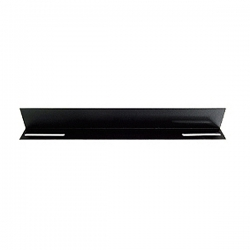 """Linkbasic 19"""" L Rail For 450mm Deep Cabinet Only - Black Cfa45-1.2-a"""