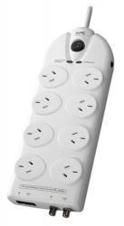 Apc Essential Surgearrest 8 Outlets With Coax & Network Protection 230V Australia P86Vn-Az