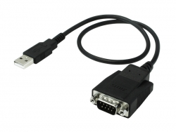 Sunix Usb To Db9/ Rs232 Serial Converter 35cm Cable Utd1009df