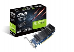 Asus nVidia GT1030-SL-2G-BRK PCIe Card GDDR5 8K 7680x4320 1xDP 1xHDMI 1xDVI 1455/1354 MHz 90YV0AT0-M0NA00