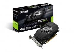 Asus Ph-gtx1050ti-4g Pcie Card Gddr5 8k 7680x4320 1xdp 1xhdmi 1xdvi 1392/1290 Mhz 90yv0a70-m0na00
