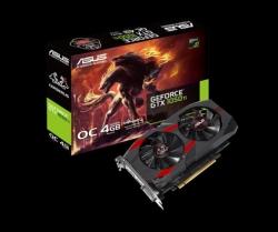 Asus Nvidia Cerberus-gtx1050ti-o4g Pcie Card Gddr5 8k 7680x4320 1xdp 1xhdmi 1xdvi 1455/ 1341 Mhz