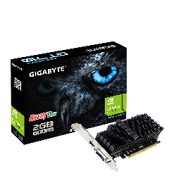 Gigabyte Nvidia Geforce Gt 710 2gb Pcie Video Card Ddr5 4k 2xdisplays Hdmi Dvi Low Profile Heatsink