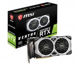 Msi Nvidia Geforce Rtx 2080 Super Ventus Xs Oc 8Gb Gddr6 8K 7680X4320@60Hz 4Xdisplays 3Dp Hdmi Nvlink Vr G-Sync1830Mhz Torx Fan 2.0 Rtx 2080 Super Ventus Xs