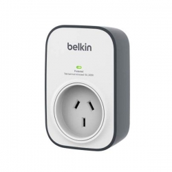 Belkin 1 Outlet Surge Protector Wall Mount Bsv102au