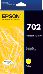 Epson 702 Std Yellow Durabrite Ink C13T344492