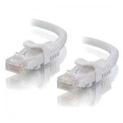 Alogic 0.5m White Cat5e Network Cable C5-0.5-white