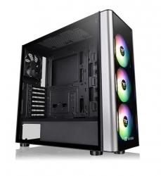 Thermaltake Mid-Tower Case: Level 20 MT ARGB - Black 3x 120mm ARGB-LED Fans, 1x 120mm Fan, 2x USB 3.0, Tempered Glass Side Panel, Supports: ATX/mATX/mini-ITX (CA-1M7-00M1WN-00)