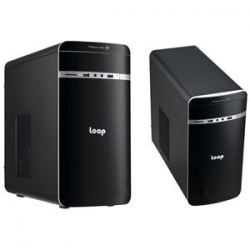 Leader LOOP 2208 with 350W 80+ Gold PSU, Front USB3.0 and HD Audo LP-2208-350W