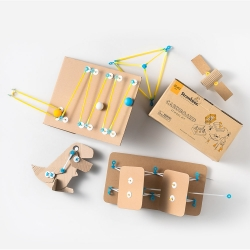 Strawbees Cardboard School Kit Sb-059