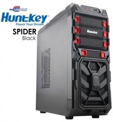 Huntkey Spider Black Gaming Case (no Psu) Cashunspiderblk-1