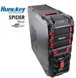 Huntkey Spider Red Gaming Case (no Psu) Cashunspiderred-1