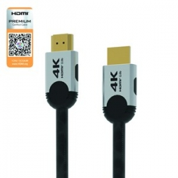 Vantec Hdmi V2.0 Cable Premium Certified 4k Gold In 2m Cb-hdmi2-4k