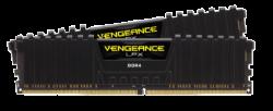 CORSAIR Vengeance LPX Black DDR4, 3600MHz 16GB 2x8GB Dimm, Unbuffered, 20-23-23-43, XMP 2.0, 1.35V, for AMDCmk16Gx4M2Z3600C20