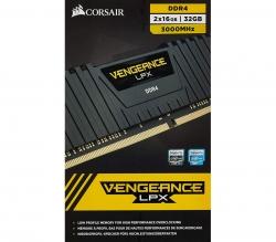 Corsair 32GB Vengeance LPX (2x16GB) DDR4 DRAM 3000MHz C16 Memory Kit CMK32GX4M2D3000C16