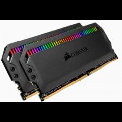 Corsair DOMINATOR® PLATINUM RGB 32GB (2 x 16GB) DDR4 DRAM 3200MHz C16 Memory Kit CMT32GX4M2C3200C16